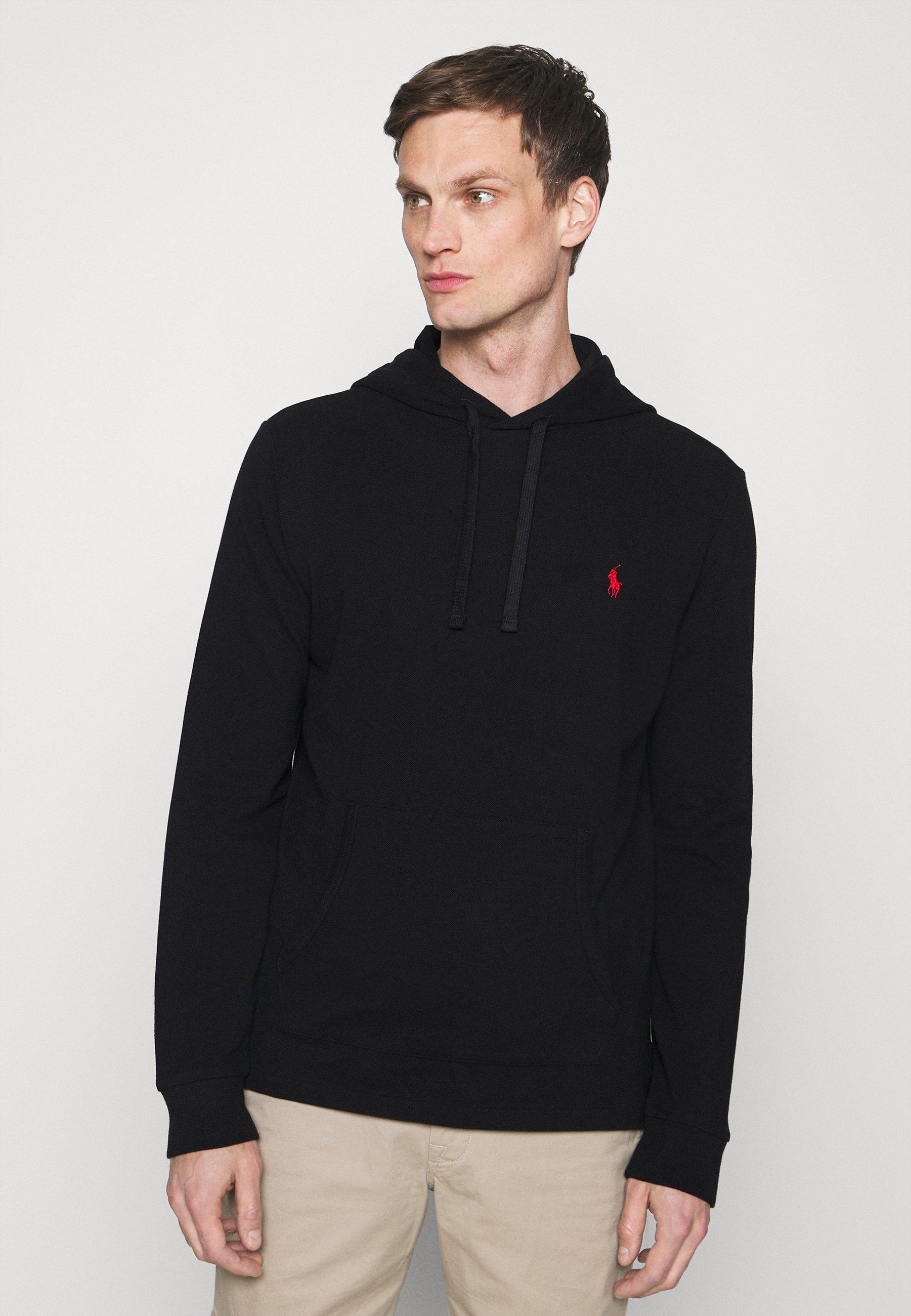 Homme MESH HOODED T-SHIRT - Sweatshirt