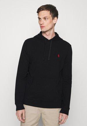 MESH HOODED T-SHIRT - Sweatshirt - black