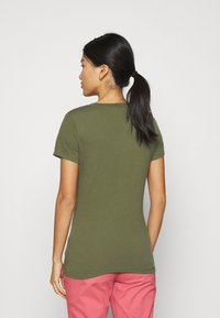 GAP - TEE - Print T-shirt - army green - 2