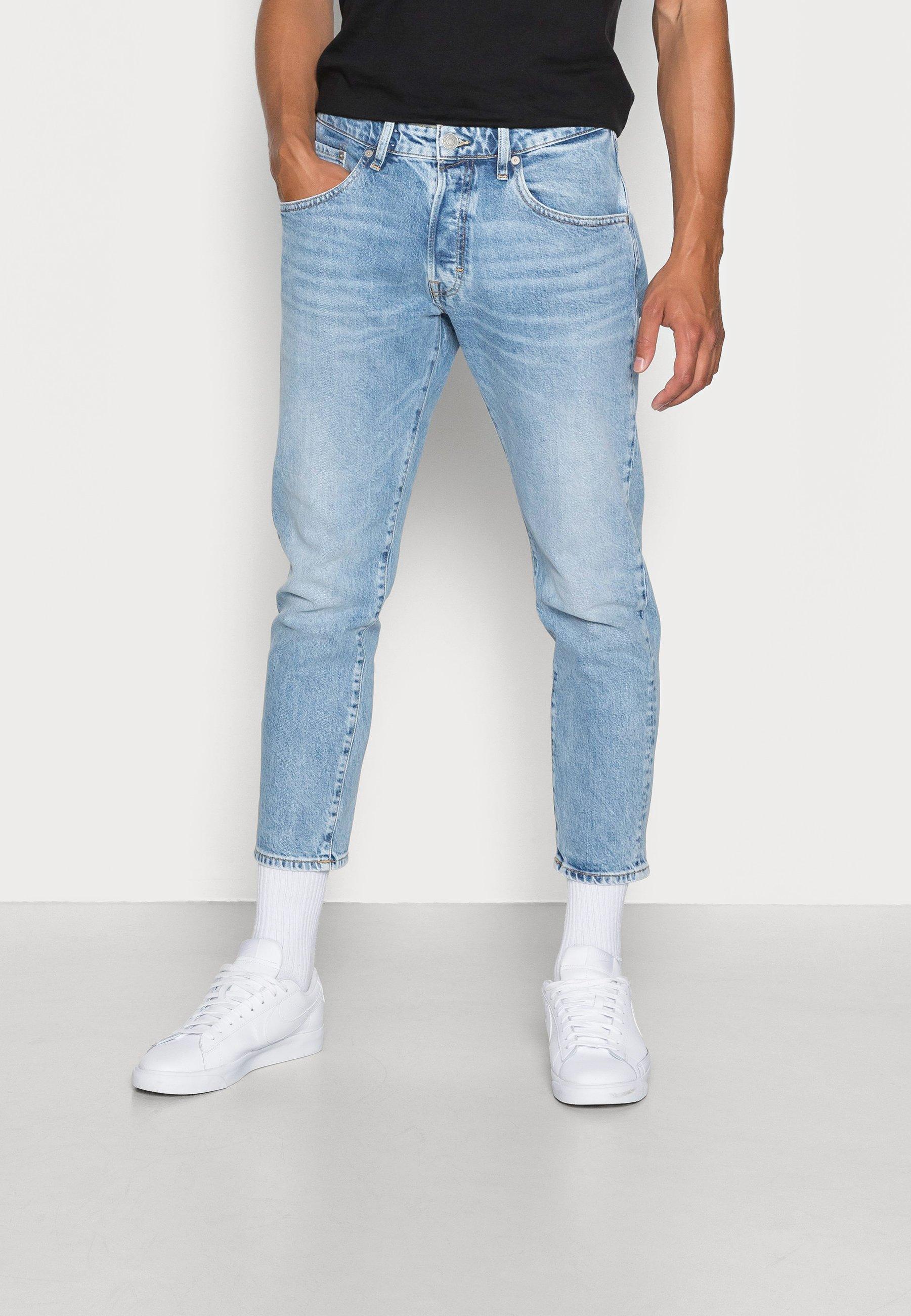Uomo JJIFRANK JJLEEN  - Jeans a sigaretta