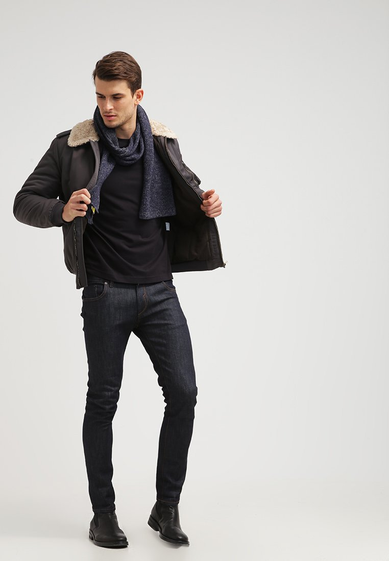 Gant The Original - Topper Langermet Black/svart