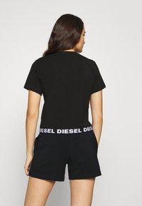 Diesel - UFSET PIJIMMY PYJAMA - Pyjama set - black - 2