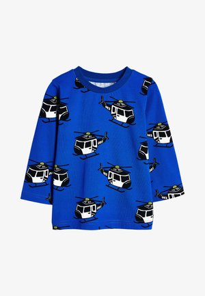 LONG SLEEVE - Langærmede T-shirts - blue