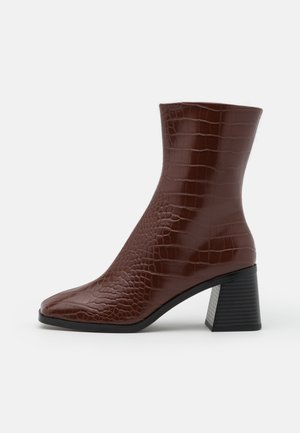 VEGAN ROONEY BOOT - Classic ankle boots - brown medium dusty