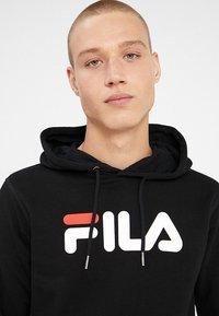 Fila - PURE HOODY - Felpa con cappuccio - black - 4