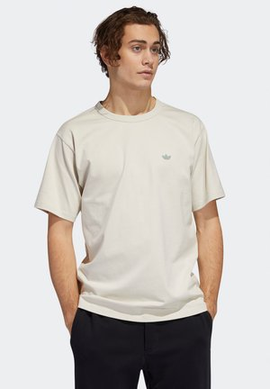 SHMOO - Print T-shirt - aluminium / teceme