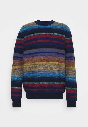 LONG SLEEVE CREW NECK - Jumper - multicoloured