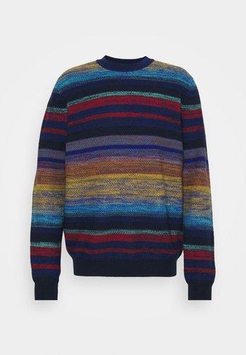 LONG SLEEVE CREW NECK - Trui - multicoloured