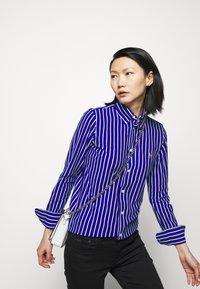 Polo Ralph Lauren - OXFORD - Button-down blouse - active royal/white - 4