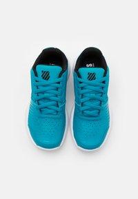 K-SWISS - COURT EXPRESS CARPET UNISEX - Carpet court tennis shoes - algiers blue/black/white - 3