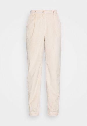 NARROW HEM TROUSERS - Trousers - light pink