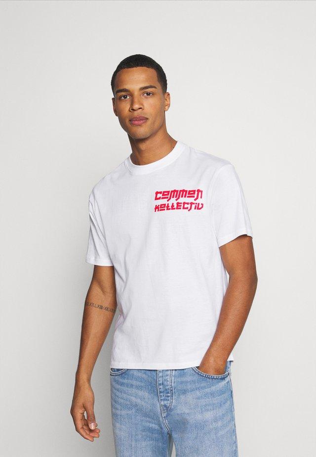 MANGA TEE UNISEX - T-shirt con stampa - white