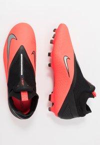 Nike Performance - PHANTOM VISION 2 PRO DF FG - Moulded stud football boots - laser crimson/metallic silver/black - 1