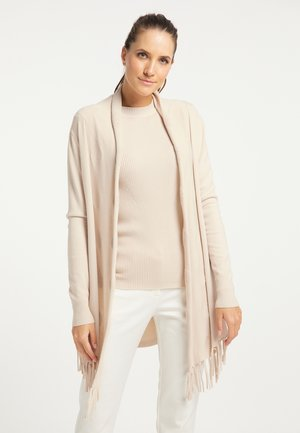 Cardigan - silber beige