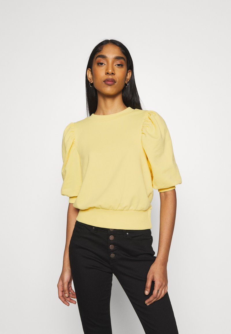 ONLY - ONLBALOU LIFE ONECK - T-shirt basic - sunshine