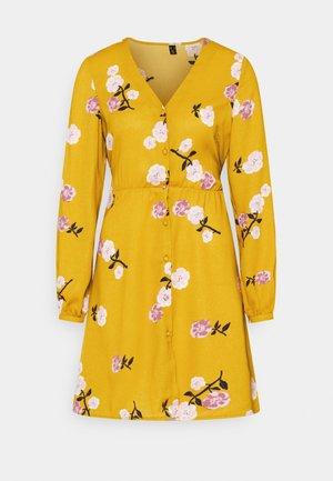 VMFALLIE TIE DRESS - Shirt dress - chai tea/newfallie