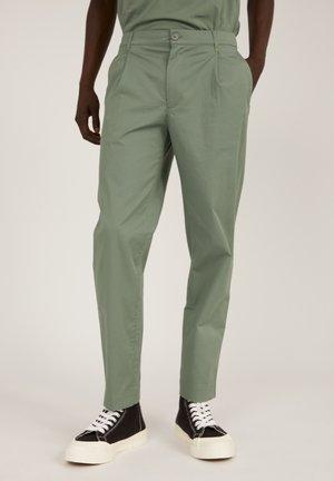 JONTAA - Trousers - agave