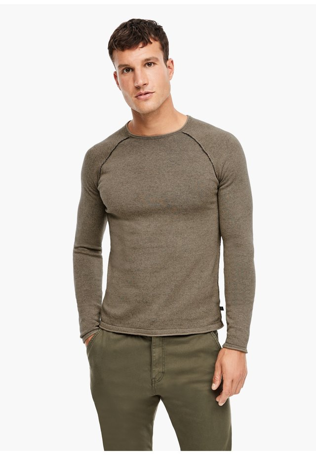 Jumper - brown melange