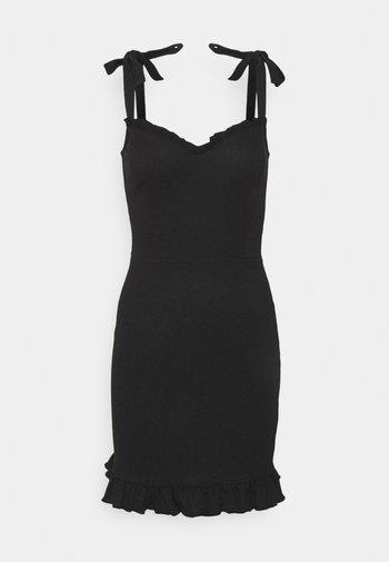 STRUCTURE CUTE DRESS - Cocktail dress / Party dress - black