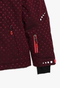 Killtec - VALJESSA  - Ski jacket - dunkel himbeere - 3