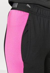 Puma - FTBLNXT PANTS - Leggings - black/luminous pink - 4