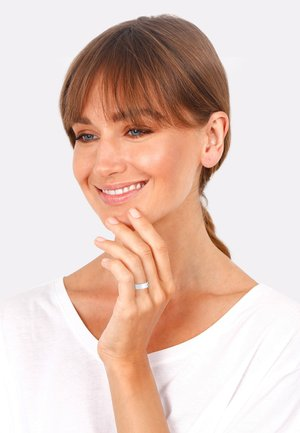 CHUNKY CHIC - Ring - silber