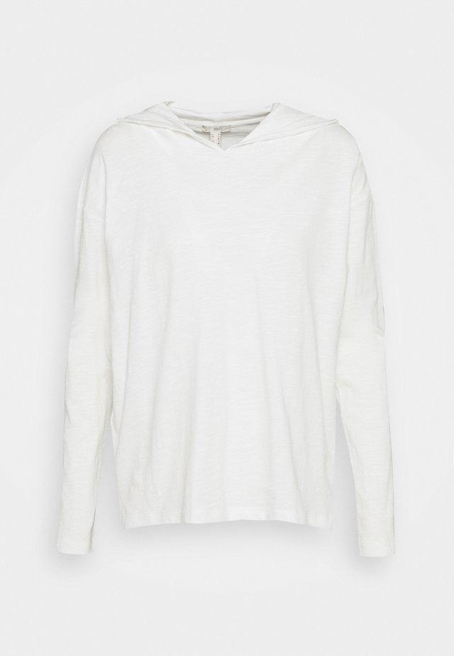 HOODY - Bluzka z długim rękawem - offwhite