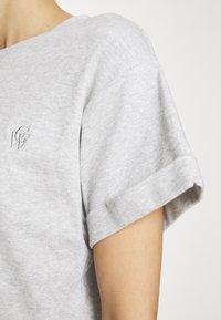 Carin Wester - STORM - Basic T-shirt - grey melange - 3