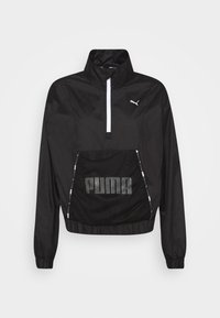 Puma - TRAIN LOGO QUARTER  - Training jacket - puma black - 4