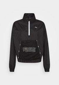 TRAIN LOGO QUARTER  - Training jacket - puma black