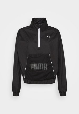 TRAIN LOGO QUARTER  - Trainingsjacke - puma black