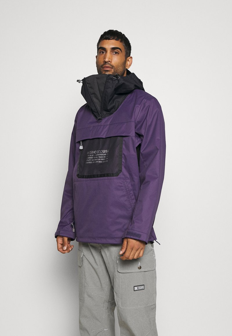 DC Shoes - ASAP ANORAK - Snowboard jacket - grape