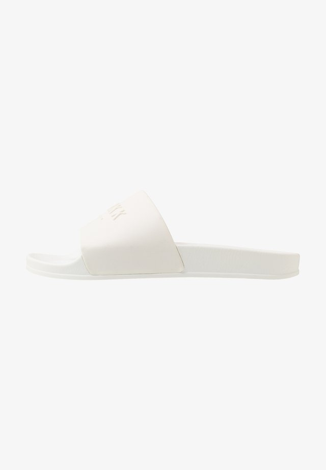 SLIDES - Pantofle - white