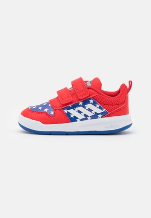 TENSAUR UNISEX - Sports shoes - vivid red/footwear white/team royal blue