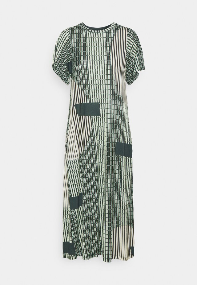 RISING DRESS - Jerseyjurk - green
