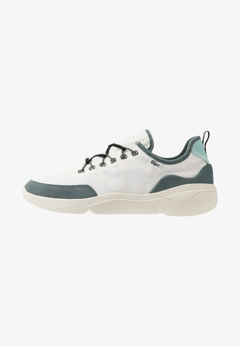 Lacoste - SUBRA IMPACT - Tenisky - offwhite/green