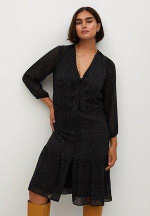 FRILL - Day dress - schwarz