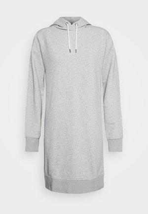 HOODIE DRESS - Day dress - grey
