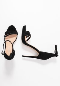 Even&Odd - LEATHER - High heeled sandals - black - 3
