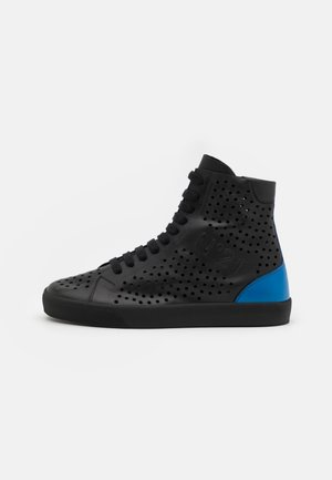Baskets montantes - black/blue