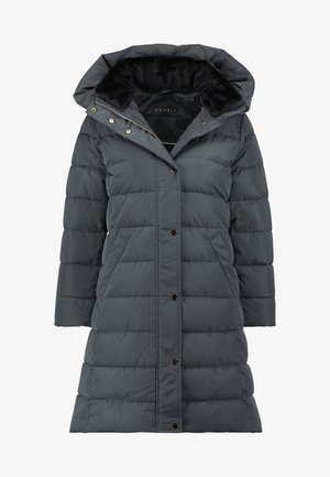 Winter coat - dark teal green