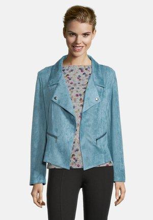 Faux leather jacket - arctic