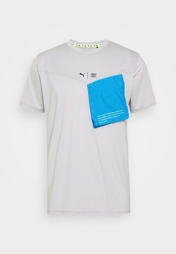 TRAIN FIRST MILE XTREME TEE - Sports shirt - gray violet