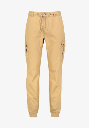 Cargo trousers - middle-beige