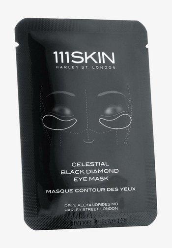 111SKIN MASKE CELESTIAL BLACK DIAMOND EYE MASK SINGLE - Face mask - -