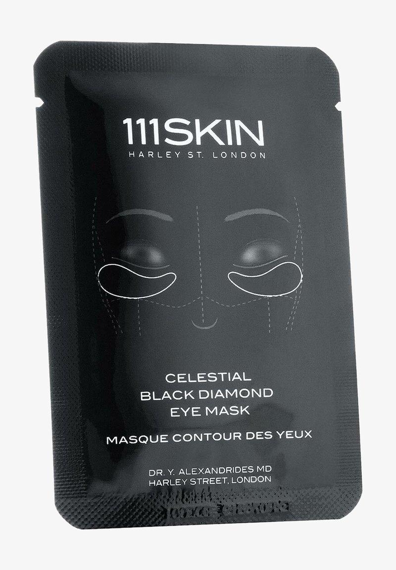 111SKIN - 111SKIN MASKE CELESTIAL BLACK DIAMOND EYE MASK SINGLE - Face mask - -