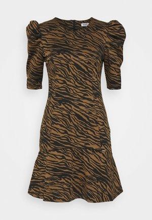 ABITO LYPOVA - Vestido ligero - brown