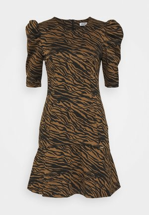 ABITO LYPOVA - Jersey dress - brown