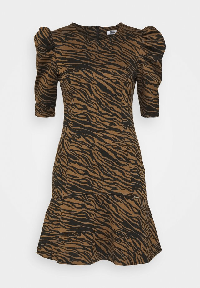 ABITO LYPOVA - Jersey dress - brown