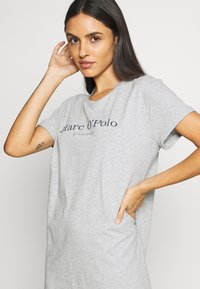 Marc O'Polo - SLEEPSHIRT CREW NECK - Pyjama top - grau-meliert - 4